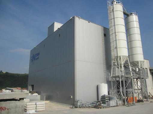 Impianto betonaggio est.
